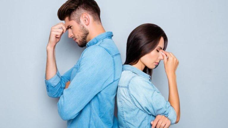 Casal sem comunicação