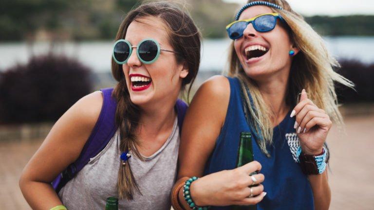 Mulheres felizes