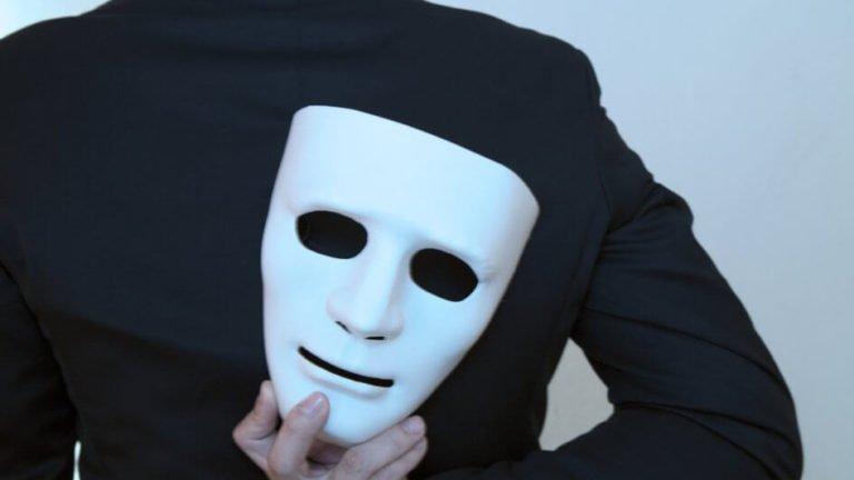 homem mascarado