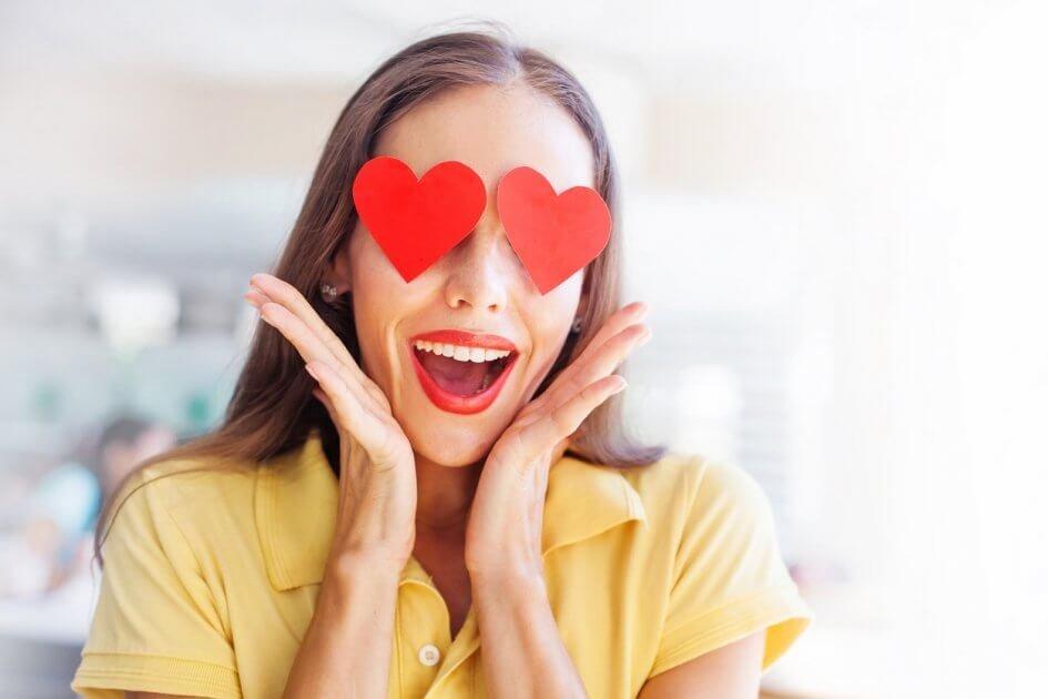 mulher apaixonada